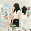 Fashion Designer Working - Stockfoto