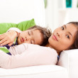 In Mother's Arms — Stock Photo
