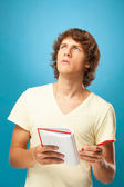 Worried Young Man — Stock Photo