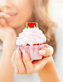Delicious Cupcake — Stock Photo