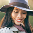 Beautiful Shy Woman — Stock Photo