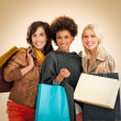 Stockfoto: Women Shopping