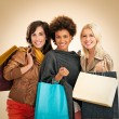 Women Shopping — Stock Photo