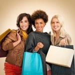 Women Shopping — Stock Photo