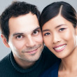Stock Photo: Mixed-Race Couple