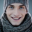 Man in Winter Clothes - Stock Photo