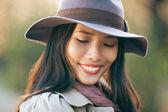 Beautiful Shy Woman — Stock Photo