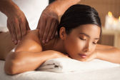 Massage du dos — Photo