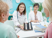 Homeopathists and Patients — Stock Photo