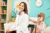 Doctor and Chil — Stock Photo