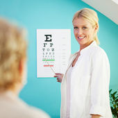 Eye Exam — Stock Photo