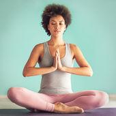 Modlitba pozice — Stock fotografie