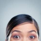 Surprised Asian Woman — Stock Photo