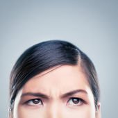 Angry Asian Woman — Stock Photo