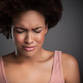 Woman in Pain — Stock Photo