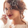 Stock Photo: Smiling Bride