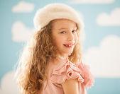 Cute Girl Smiling — Stock Photo