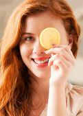 Lemon Beauty Treatment — Stock Photo