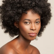Sensual African Woman — Stock Photo