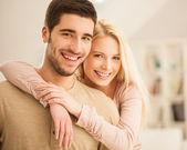 幸福的情侣 — 图库照片
