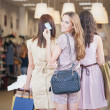 Three Women Shopping Together — Stock Photo