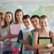 Stock Photo: Primary School Students in the Classroom