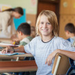 Smiling Boy at School — Stock Photo