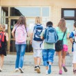 Kids Going to School — Stockfoto #34738369
