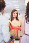 Couple Shopping for Clothes — Stock Photo