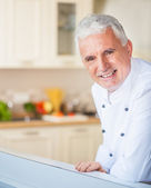Portrait of a Chef — Stock Photo