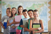 Primary School Students in the Classroom — Stock Photo