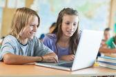Children in Computer Science Class — Stock Photo