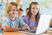 Children in Computer Science Class — Stock Photo