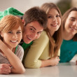 Stock Photo: Group of Teenagers Smiling