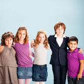 Group of Smiling Children — Stock Photo