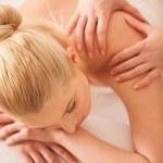 Back Massage — Stock Photo