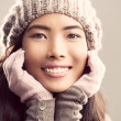 Woman in Winter Clothes — Foto Stock