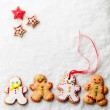 Gingerbread Men — Stockfoto #34756323