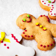 Gingerbread Men — Stockfoto #34756333