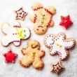 Gingerbread Men — Stock Photo #34756335