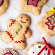 Gingerbread Cookies — Stock fotografie #34756377