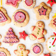 Gingerbread Cookies — Stockfoto #34756437