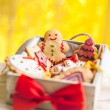 Gingerbread Cookies — Stockfoto #34756463