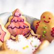 Gingerbread Cookies — Stockfoto #34756477
