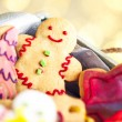 Gingerbread Cookies — Stockfoto #34756483