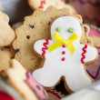 gingerbread man&quot — Stock Photo #34756497