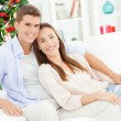 Cute Couple Posing — Stockfoto #34756599