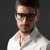 Young Man With Glasses — Stock Photo
