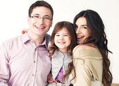 Happy Smiling Family — Stock Photo