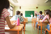 Students in Chinese Class — Stock Photo